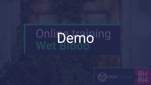 Demo voor de Online Training Wet Bibob